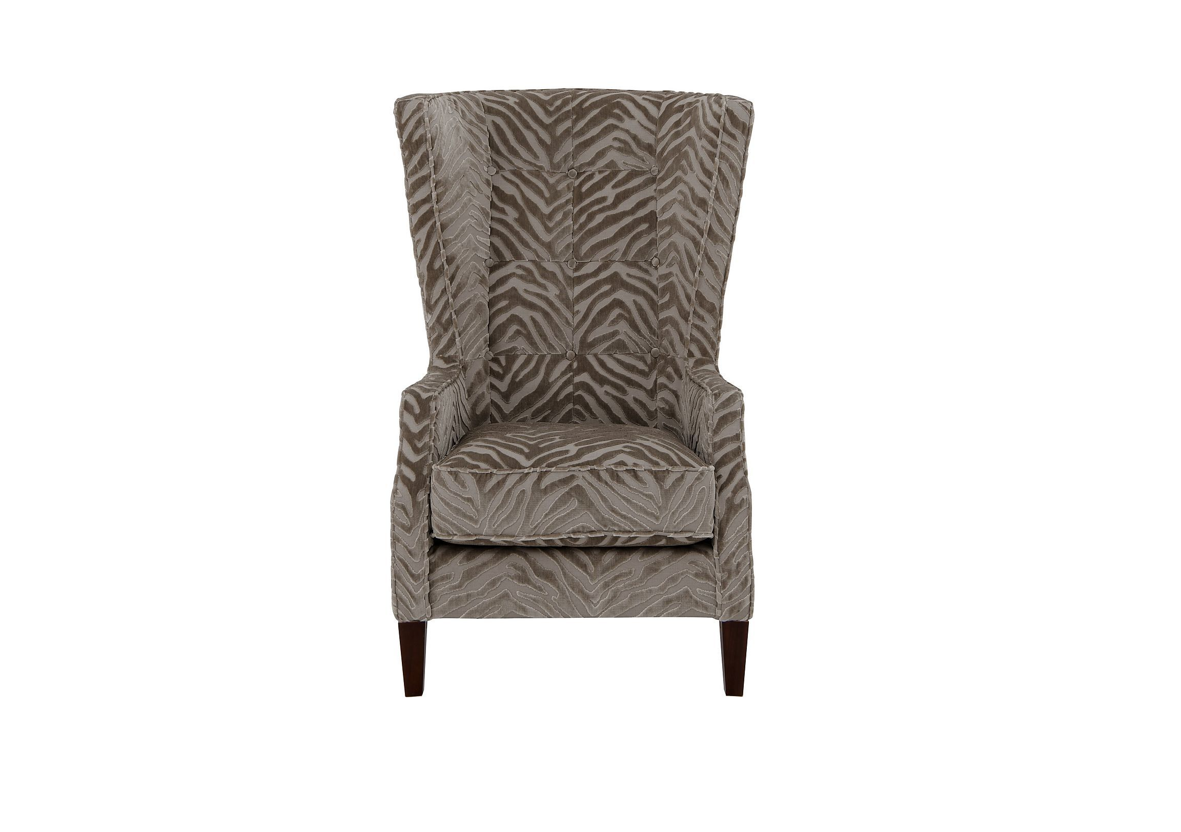The Hollywood Collection Marilyn Fabric Accent Armchair