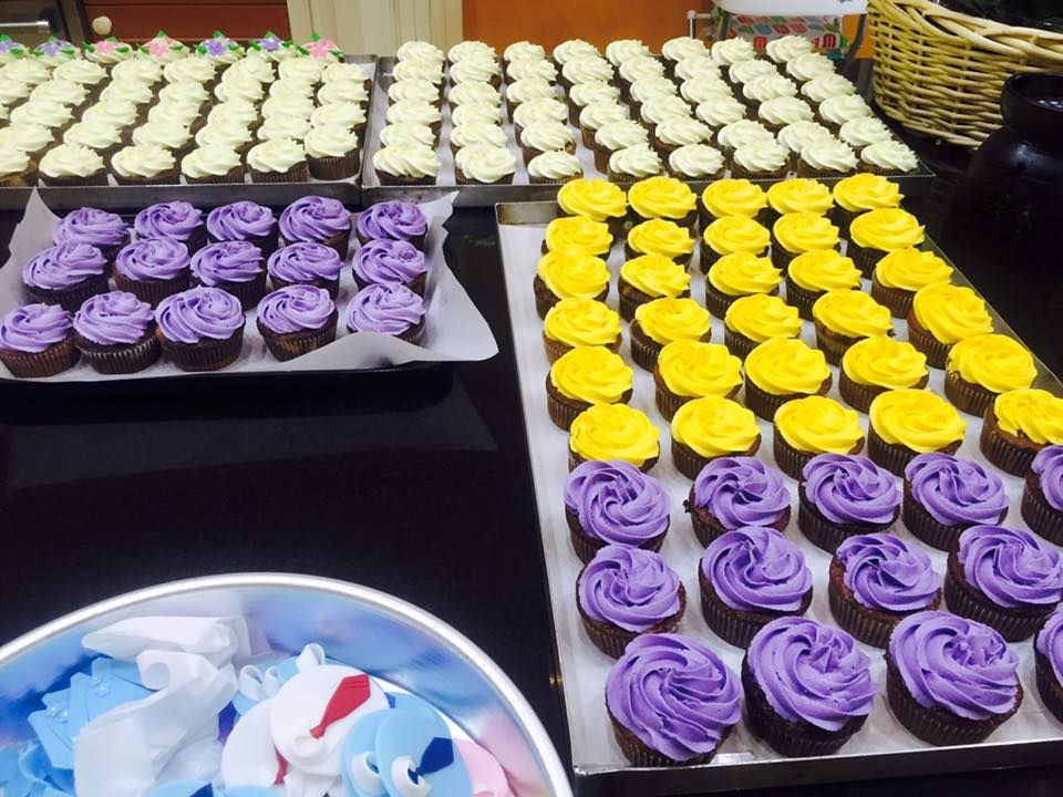 Alhamdullah finally done with cupcakes deco