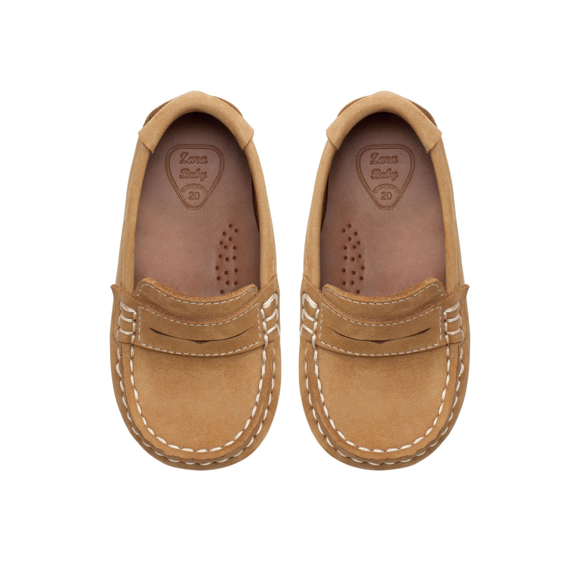 Leather moccasin - Shoes - Baby boy - Kids | ZARA United ...