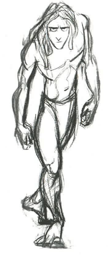 Walt Disney Tarzan 1999 Doodle Inspirations Disney Drawings