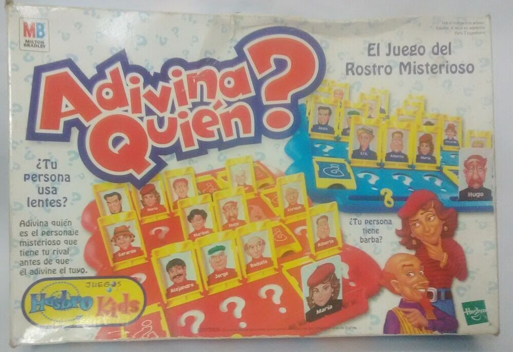 Who Is It Classic Board Game Funny Family Guessing Games