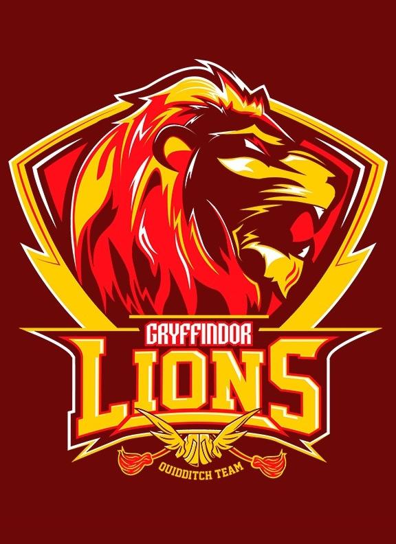Hogwarts Quidditch Team Badges Gryffindor Lions By Mitch Ludwig Harry Potter Gryffindor Harry Potter Fantastic Beasts