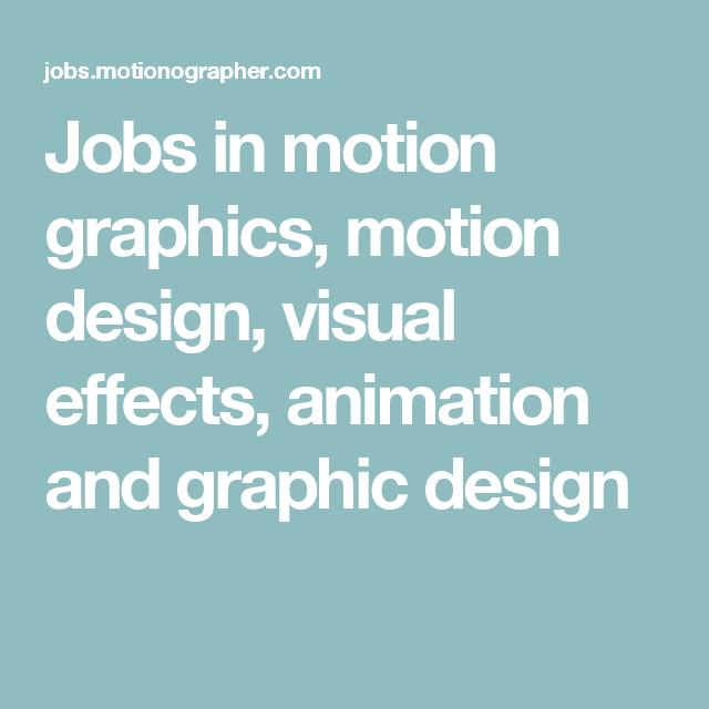 in motion design
