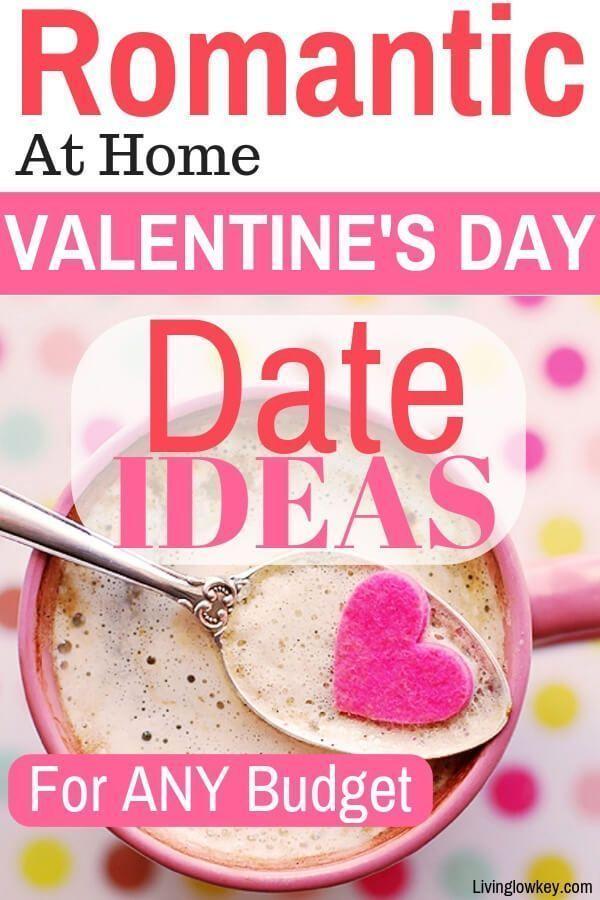 At Home Date Night Ideen für die billigen und sparsamen   – Valentine's Day Ide…