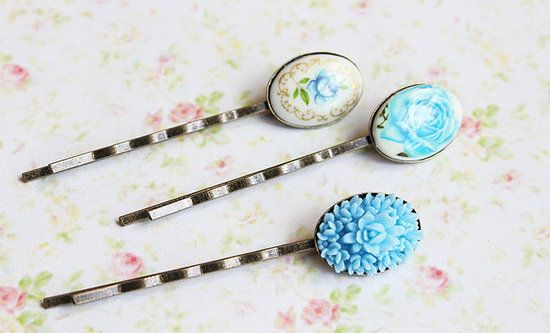 vintage hair pins {etsy}