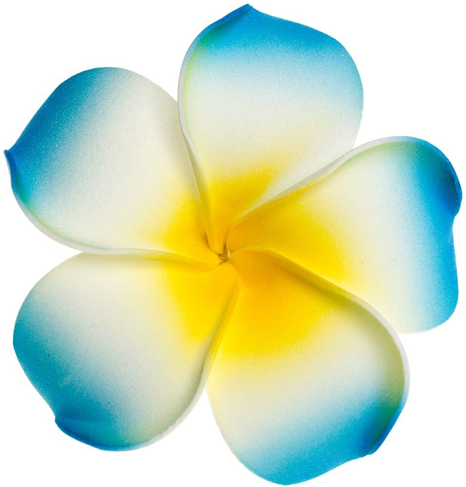 Tiki Plumeria Flower Blue Would So Have This As A Tattoo Flowers