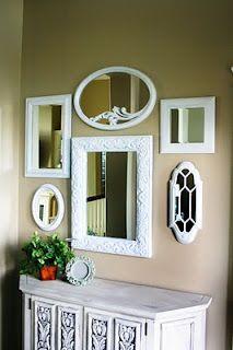 @Julia Miller - mirrored wall | Mirror decor, Frame decor ...