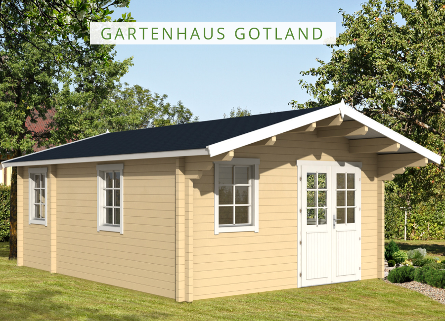 Gartenhaus Modell Gotland D 70 111741 Gartenhaus, Haus