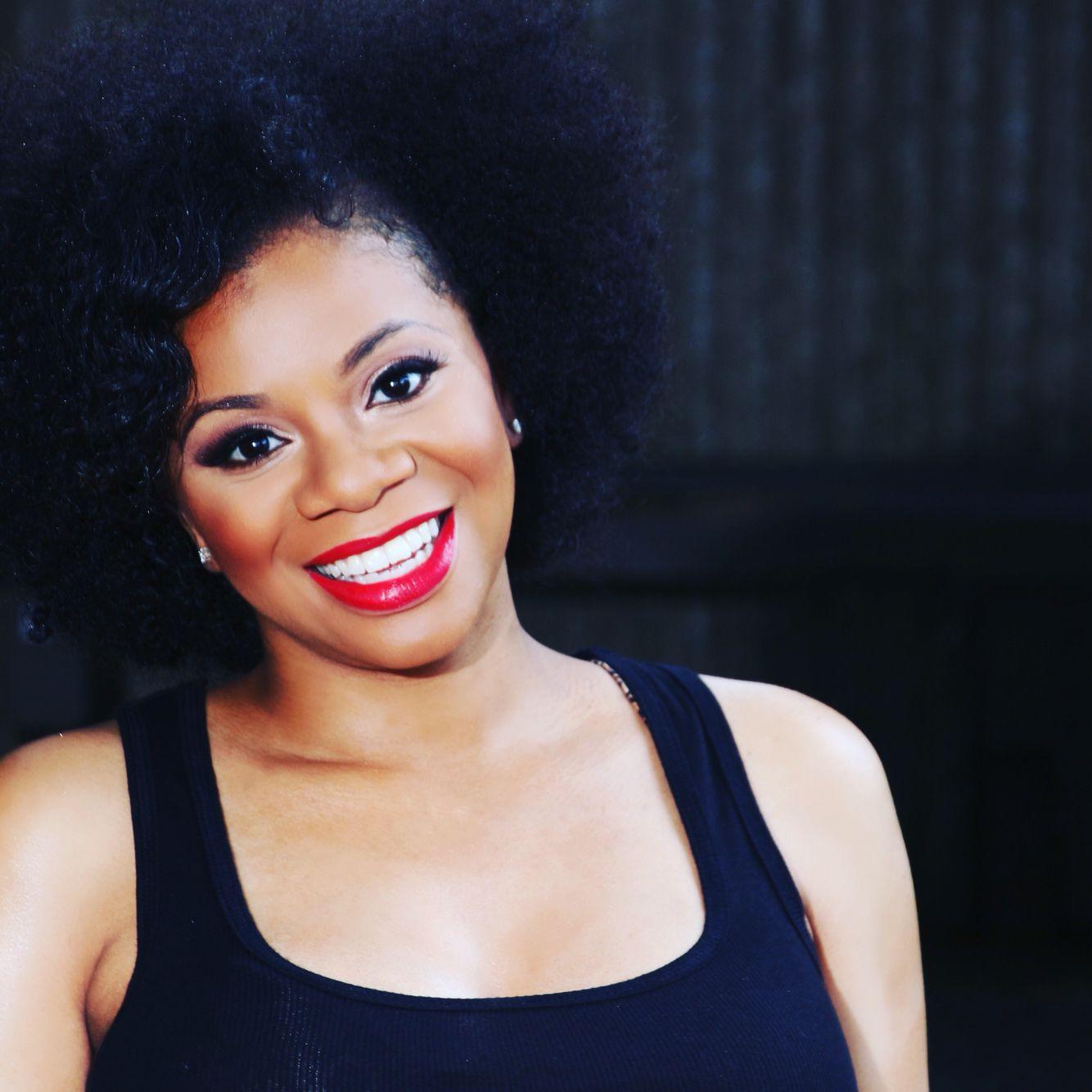 Natural hair Afros black girls rock