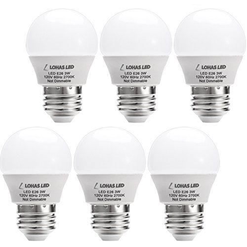 Lohas Led 3w25 Watt Equivalent Light Bulbs Warm White 2700k Led Energy Saving Light Bulbs E26 Medium S Energy Saving Light Bulbs Led Lighting Home Saving Light