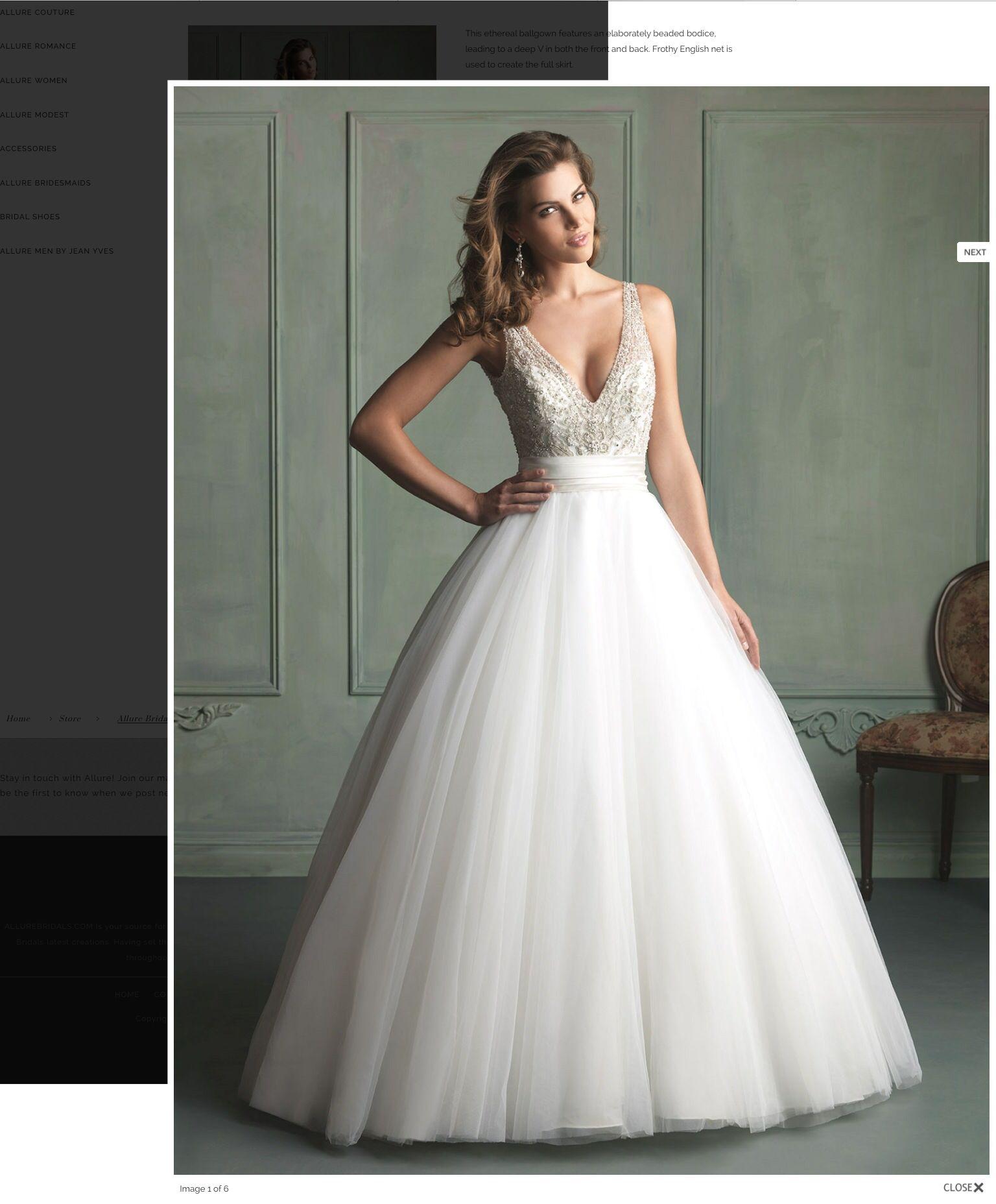 Wunderschönes material und schnitt des oberteils wedding dresses