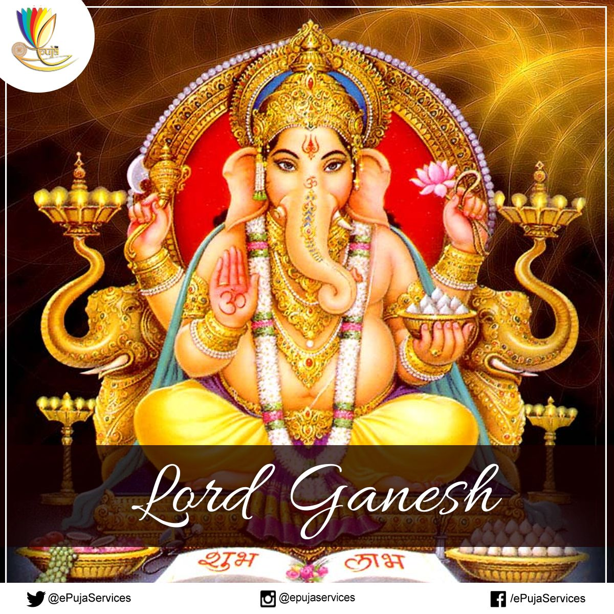 Lord Ganesha Is One Of The Five Prime Hindu Deities Whose Idolatry Is Glorified As The Panchayatanapuja Ganesha Hindu Gods Lord Ganesha