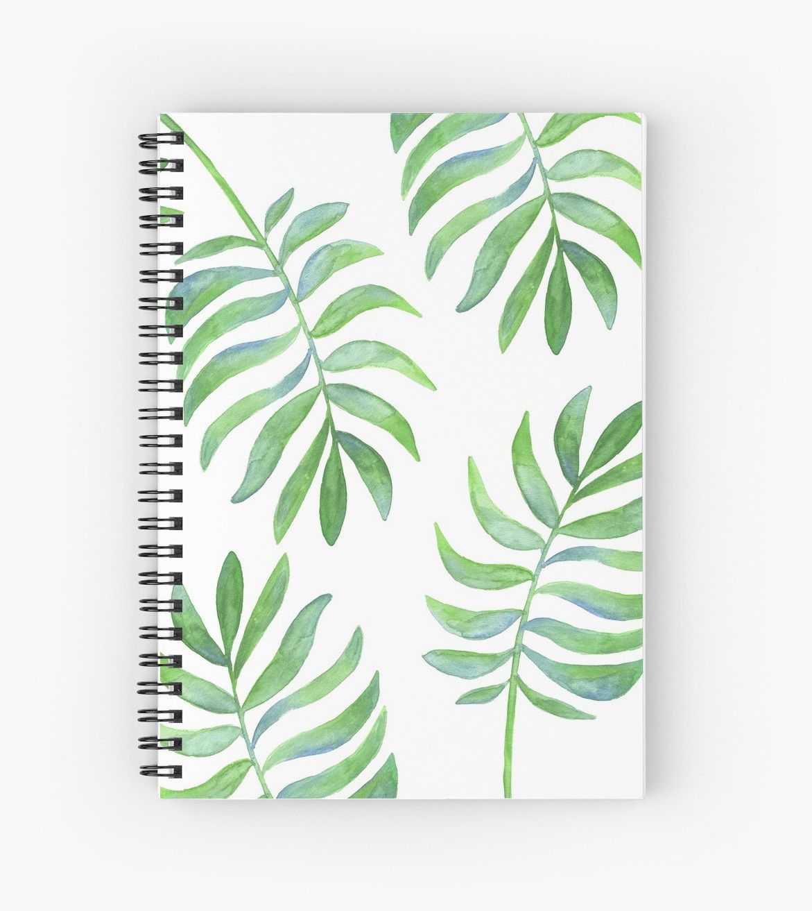 Watercolor Tropical Palm Leaf Pattern Spiral Notebook Diy Notebook Cover Cute Notebooks For School Cool Notebooks 22 png files with transparent backgrounds each file is in high quality 300dpi resolution. spiral notebook diy notebook cover