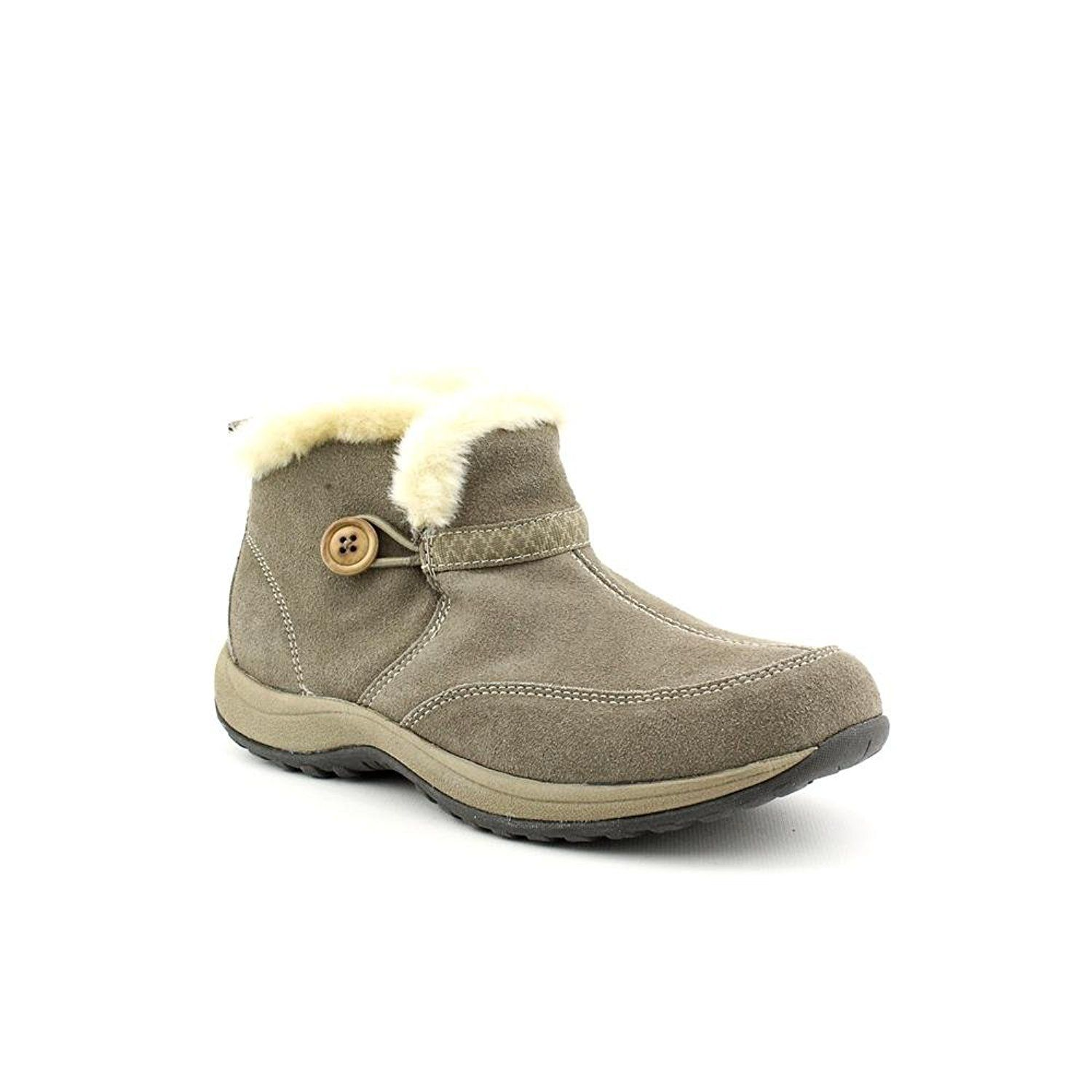 cf4520e8c Easy Spirit Skilift Womens Size 6 Gray Suede Fashion Ankle Boots ** More  info could be found at the image url. #boots