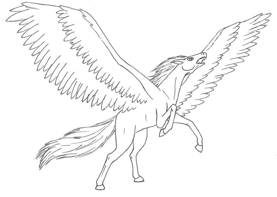 Pegasus angry by Niales4Everdeviantart