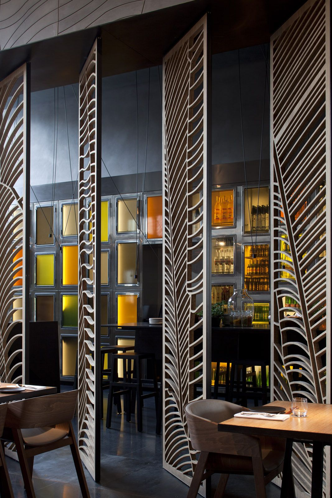 Galera de Restaurante Taizu Pitsou Kedem Architects Baranowitz