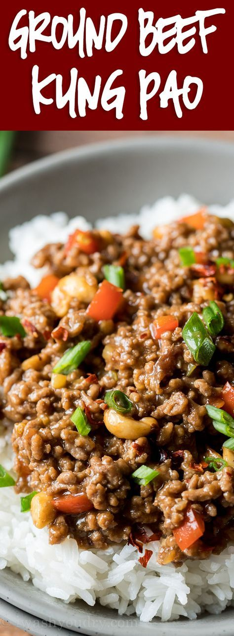 Ground Kung Pao Beef images