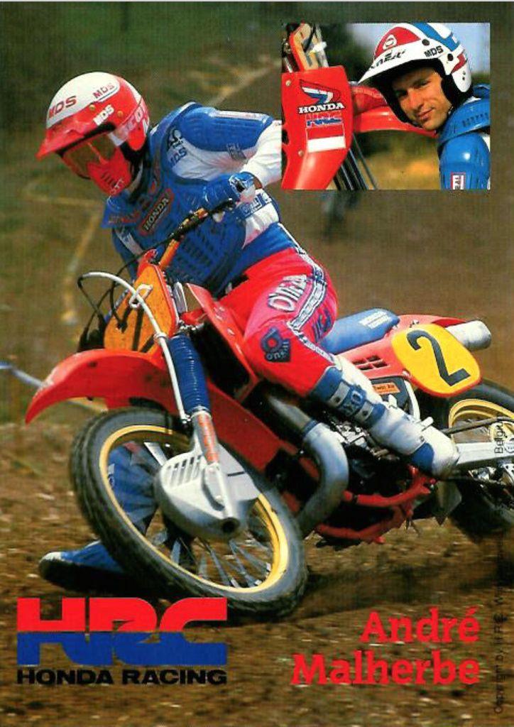 Andre Malherbe 1986 Coluche Enduro