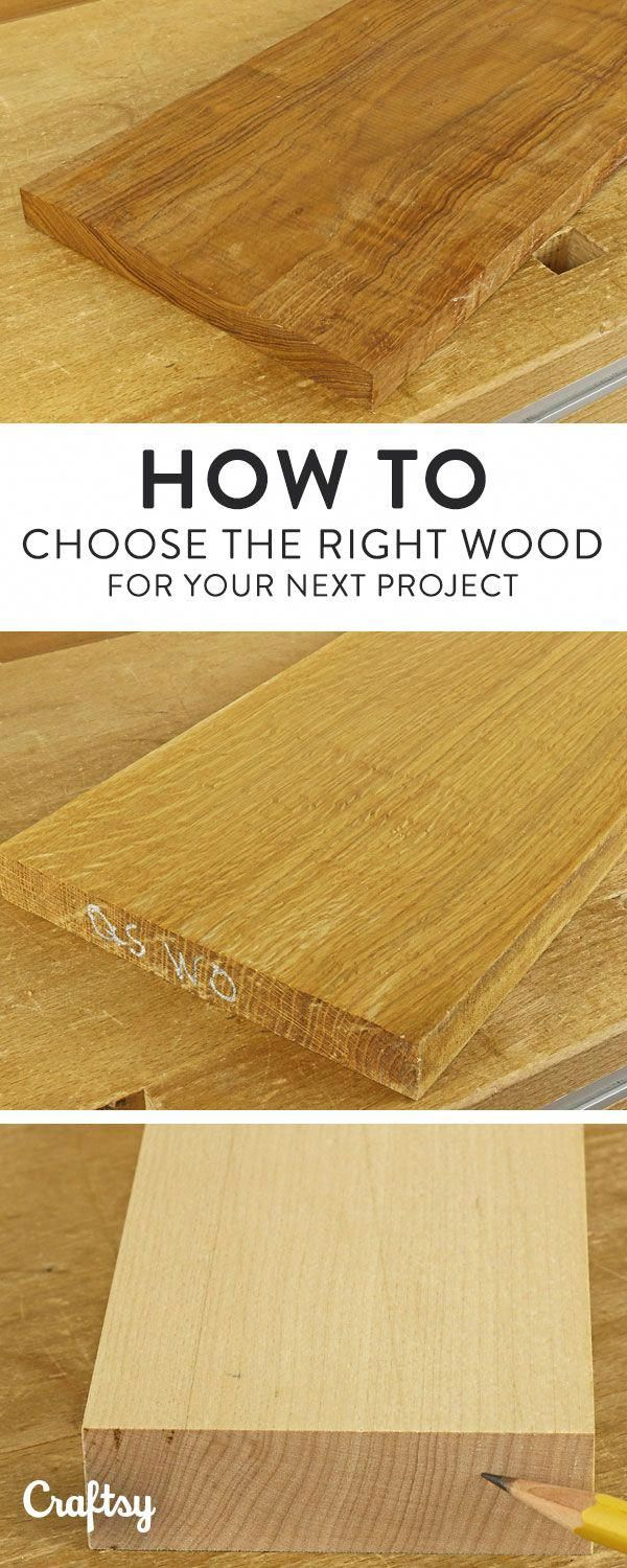 Choose the Right Wood by Knowing How it Will Move #woodworkingprojectschair