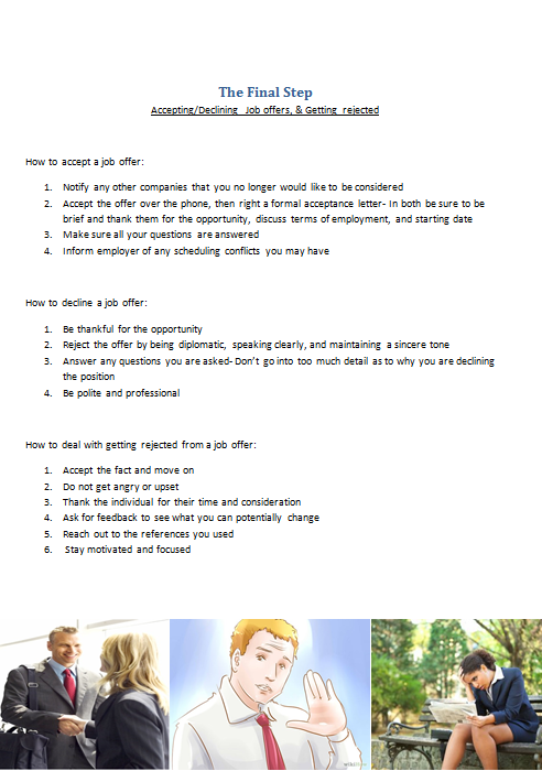 Tips For Adelphi S Upcoming Job Internship Expo The Final Step Job Job Offer Acceptance Letter