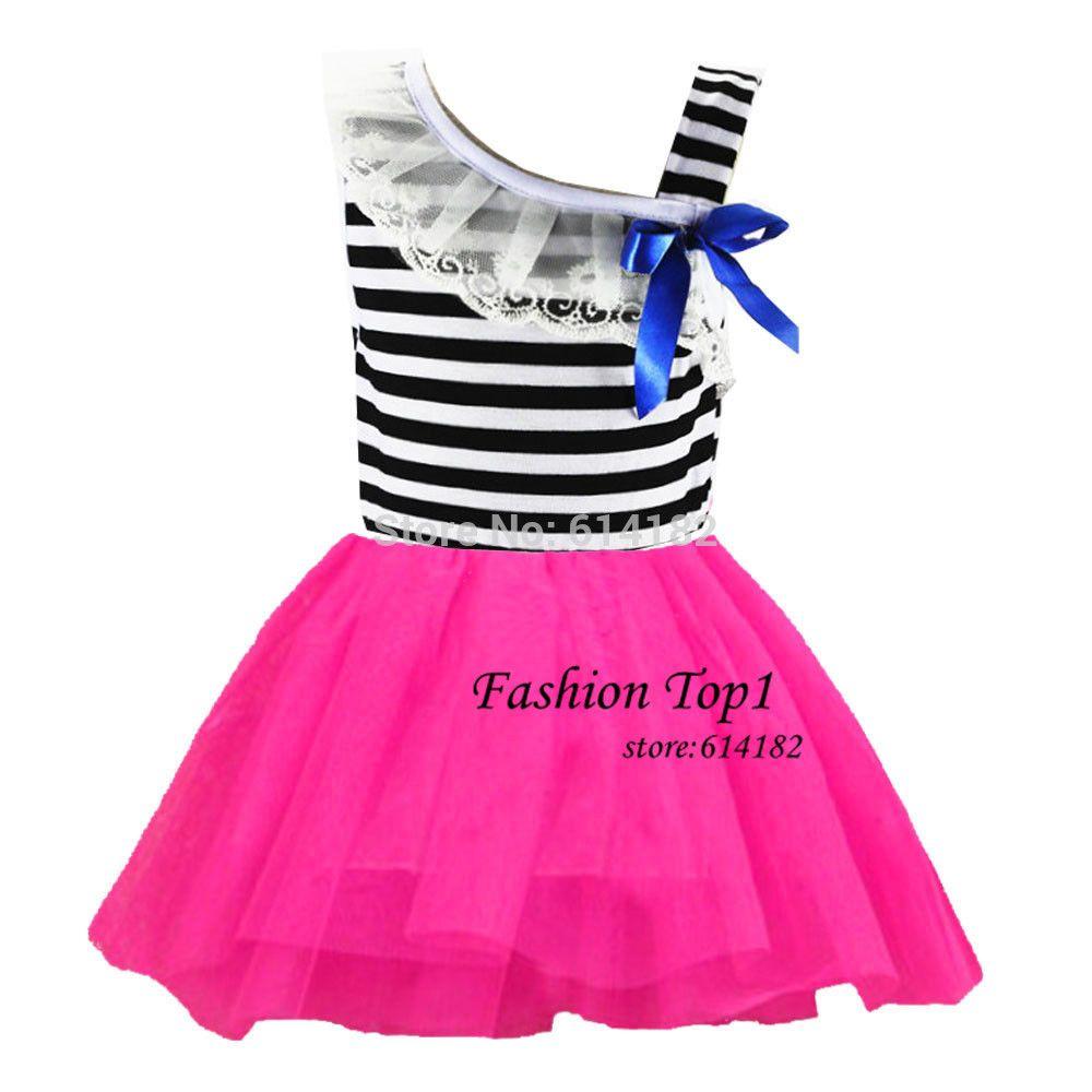Cheap 1PC Nuevo 2014 vestido de las muchachas del vestido del bebé y ...