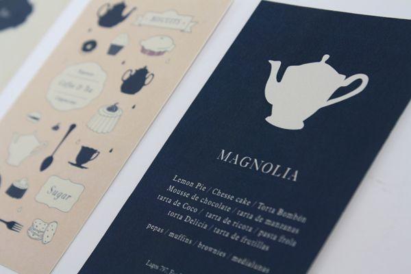 Identidade Visual do Magnolia Café e Chá