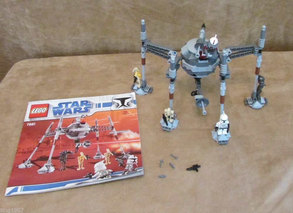 7681 Lego Star Wars Complete The Clone Wars Separatist Spider Droid