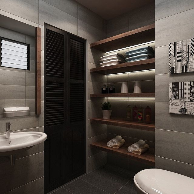 Hdb Home Interior Kitchen Living Room Bathroom: HDB 4-Room $30k @ Buangkok GreenInterior Design Singapore