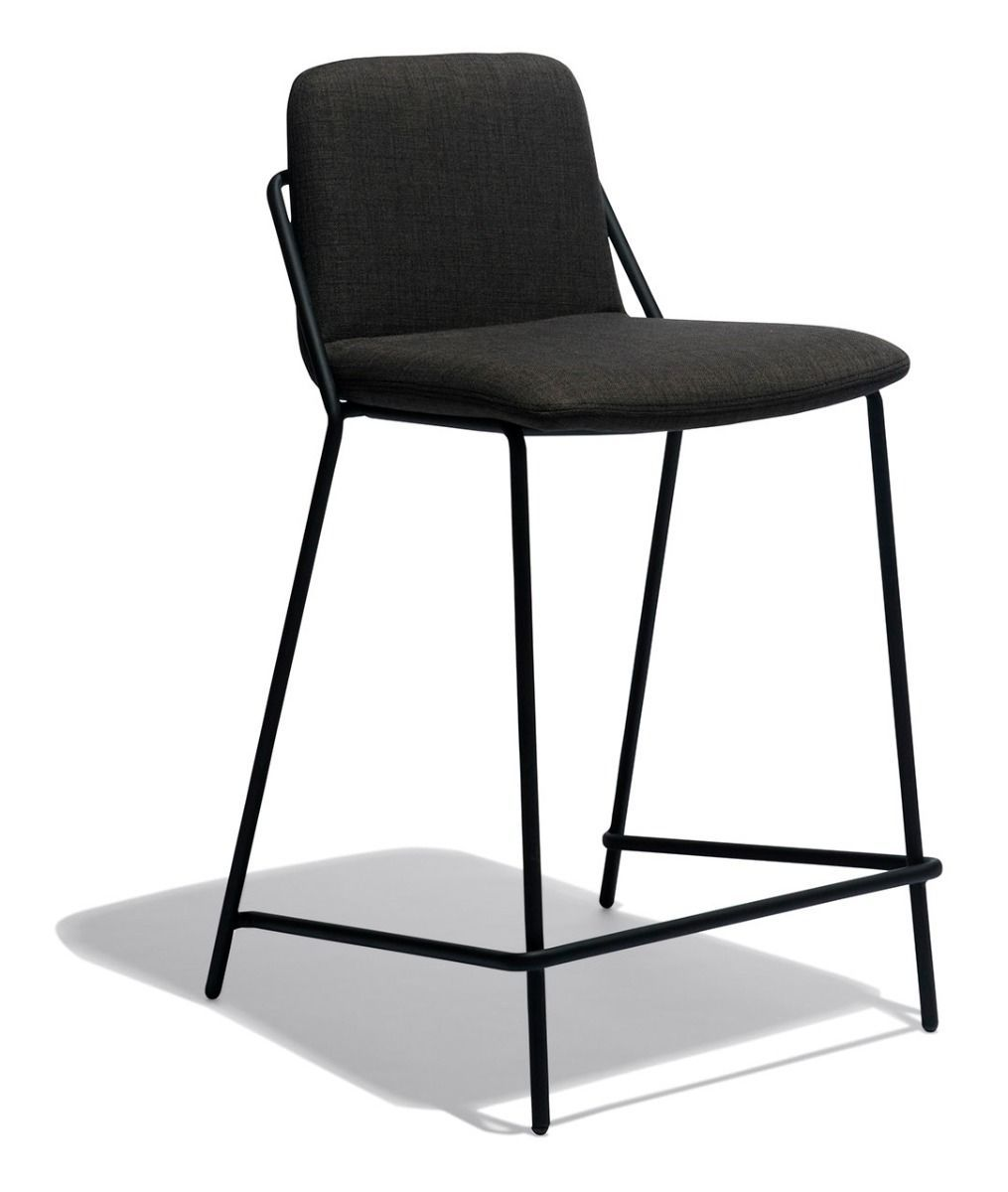 Sling Counter Stool Upholstered In 2020 Counter Stools Upholstered Stool Stool