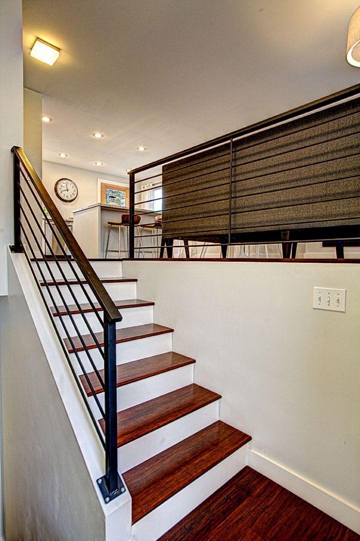 Beautiful My Mom S Stairs More Bottom Stairs Modern Bilevel Kitchen Split Level