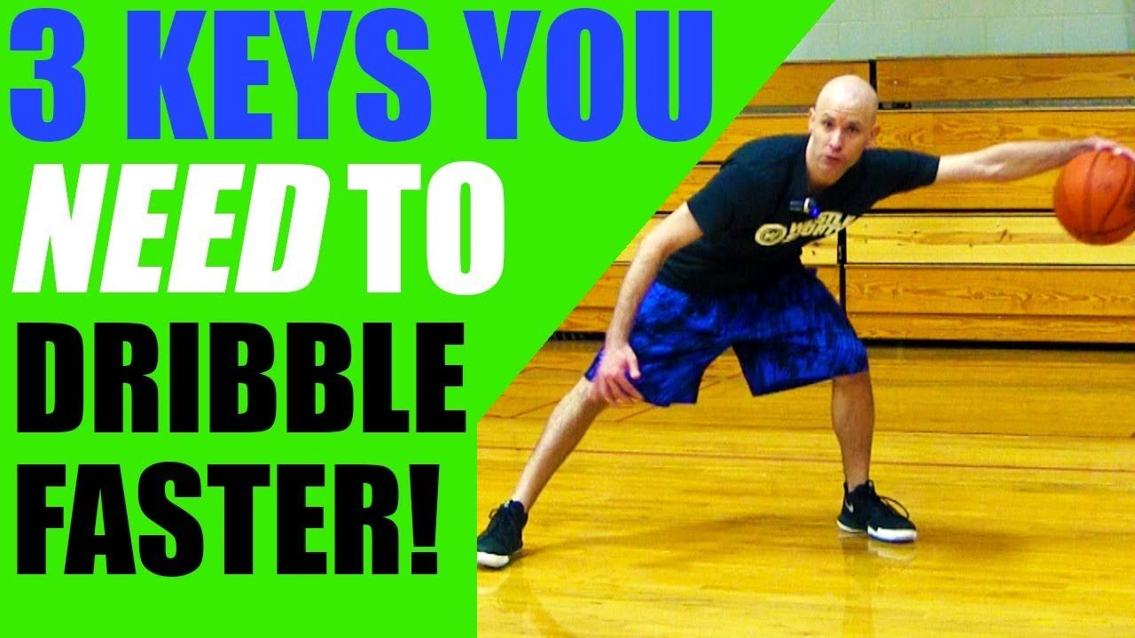 How To Dribble A Basketball FASTER! Get Better Handles In