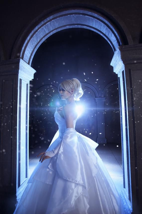 Lunafreya Nox Fleuret Wedding dress is available for custom order! It is a fully handmade, professionally sewn cosplay costume. This dress might perfectly fit for your wedding, prom or cosplay convention!Attention! The color of items in the photos may be slightly different from the actual color depending on lighting and your monitor settings. ~ Details Source – Final Fantasy XVСharacter – Lunafreya Nox FleuretCosplayer in the photo – Yuna Kairi Costume includes the base kit: corset, dress, clear