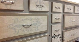 studio cabinetry created with Maison Blanche products - Patina Home