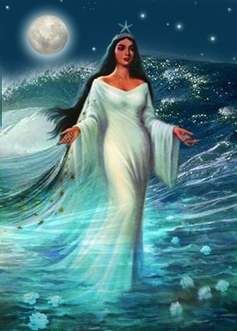 Lemanja Is A Water Elemental Her Themes Are Foresight Divination
