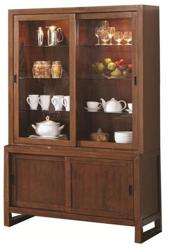 The Camila Dining Room Collection By Coaster Furniture Will Make A Wonderful Addition To Any Home This Spacious Buffet And Hutch Bring Elegant Transitional