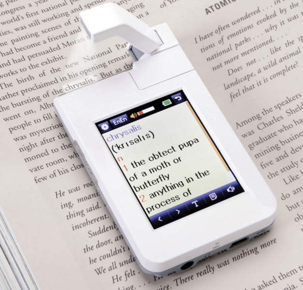 This point-and-click dictionary. | 26 Gifts For People Who Write Better Than They Speak