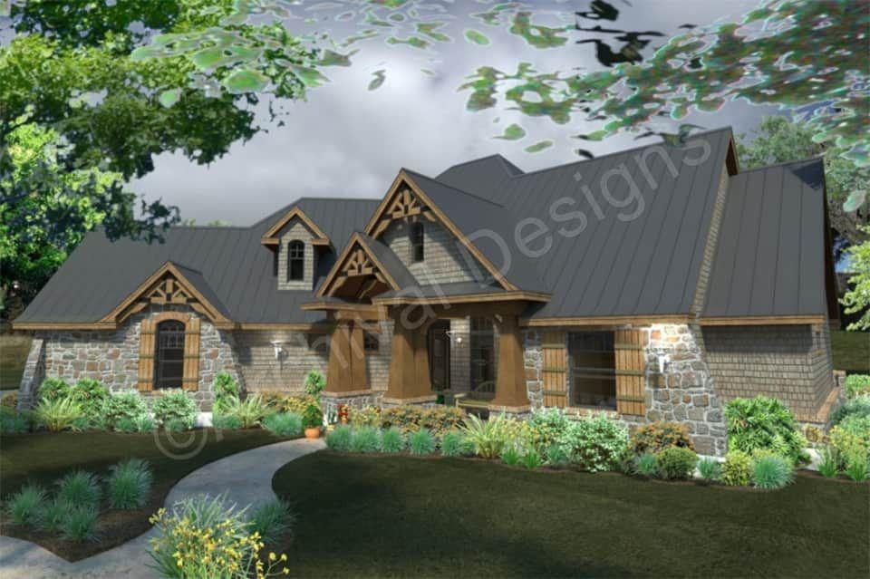 La Meilleure Vie House Plan Craftsman Style House Plans Dream House Plans House Plans