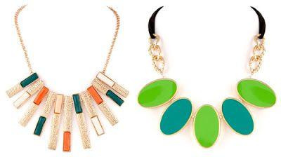 Neon jewellery from voylla.com