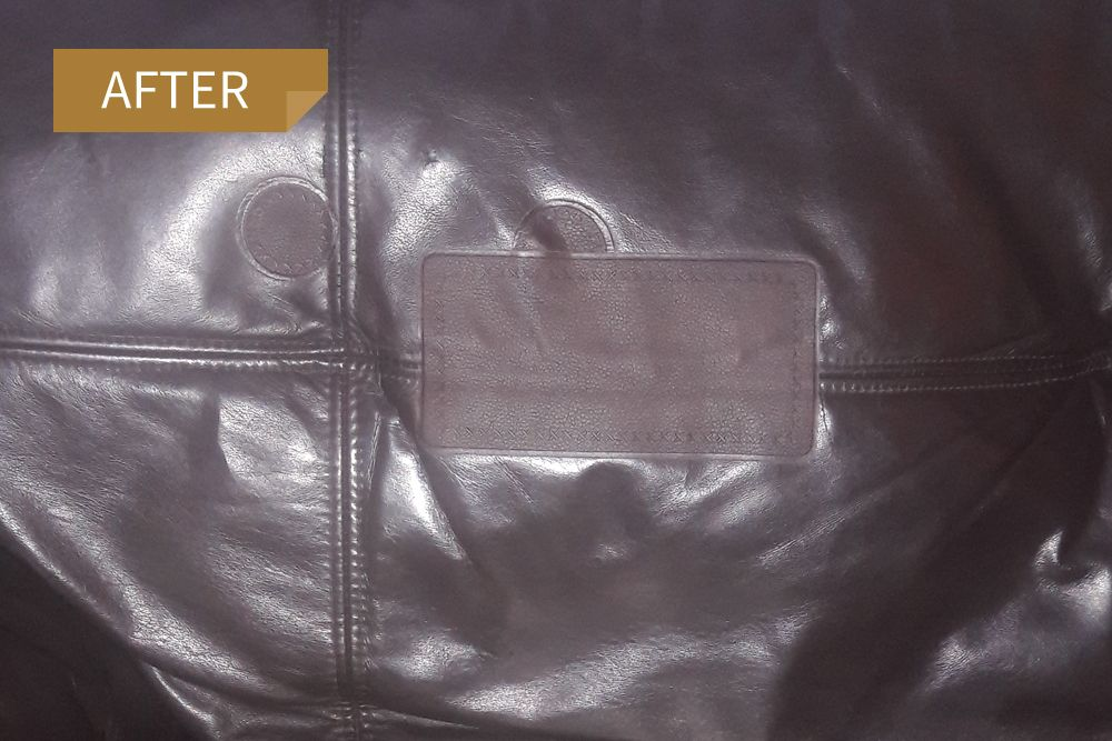 Various Dark Brown Patches In Use Here To Repair A Damaged Seam And Little Holes In This Sofa Leather Repair Leather Diy Leather Patches
