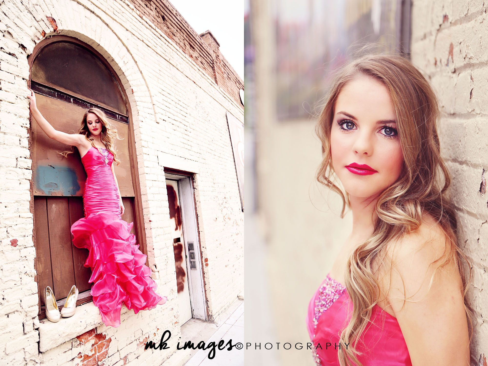 79bfdca2ee6 Dress by LaNeige Bridal Boise MK Images Boise Fashion Photographer Hot Pink Prom  Dress