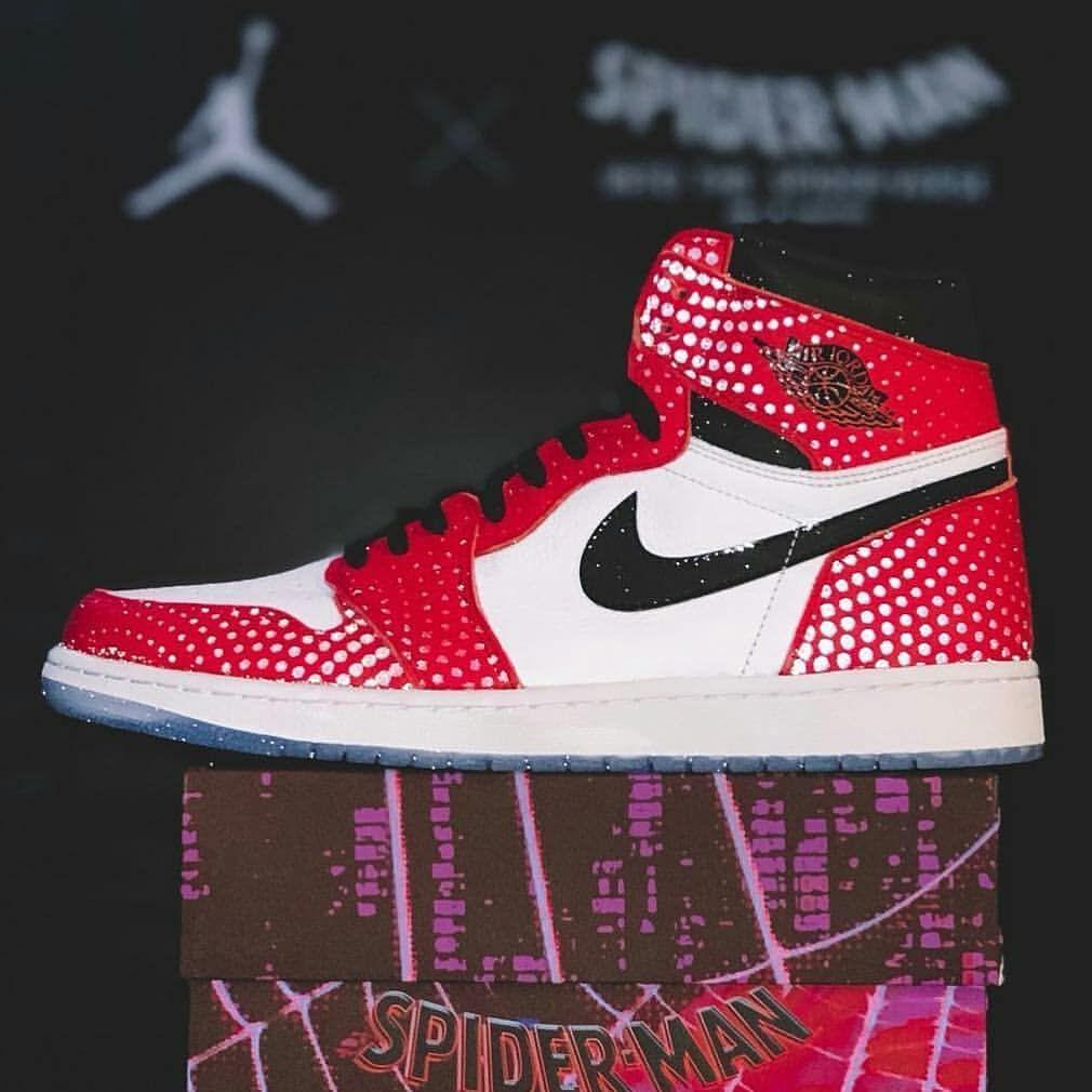 jordan 1 chicago spiderman