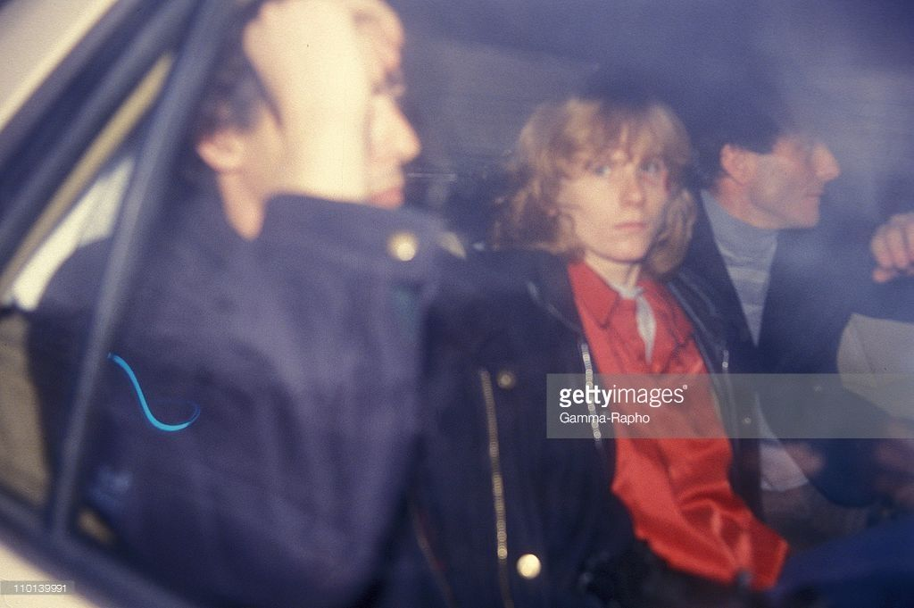 Joelle Aubron Courthouse in Paris, France on February 23, 1987.