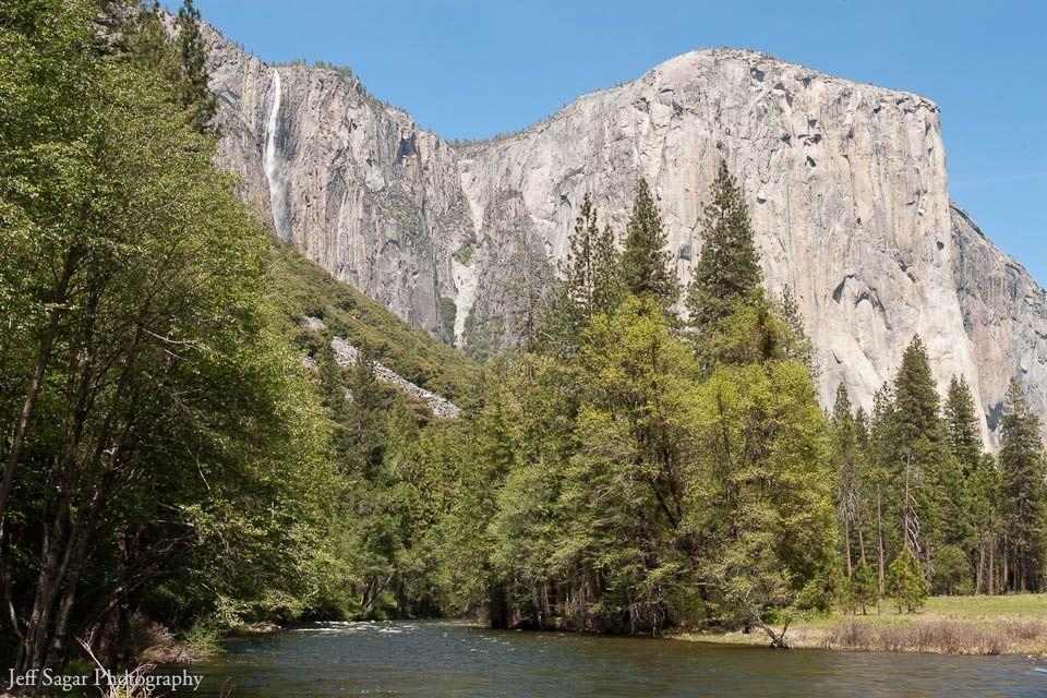 El Capitan and Horsetail Falls