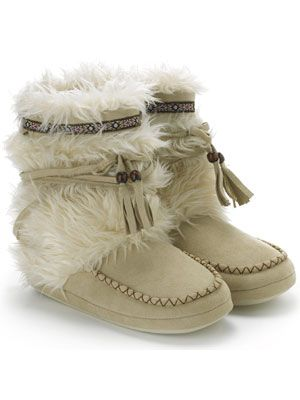 Love these boots for the winter. They keep my feet warm and toasty in the snow plus they are so cute.