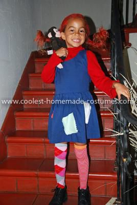 Checking Out Pippi Longstocking From >> Awesome Homemade Pippi Longstockings Halloween Costume Educational