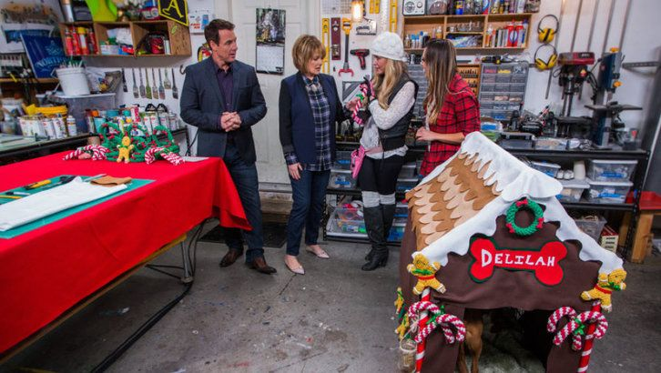 Wednesday, December 17th, 2014 | Home & Family | Hallmark Channel Ginger bread dog house
