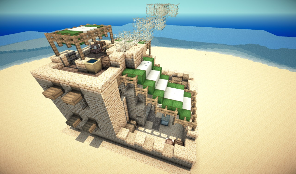 Desert Building Pack Minecraft Map マインクラフト 建築 マイン