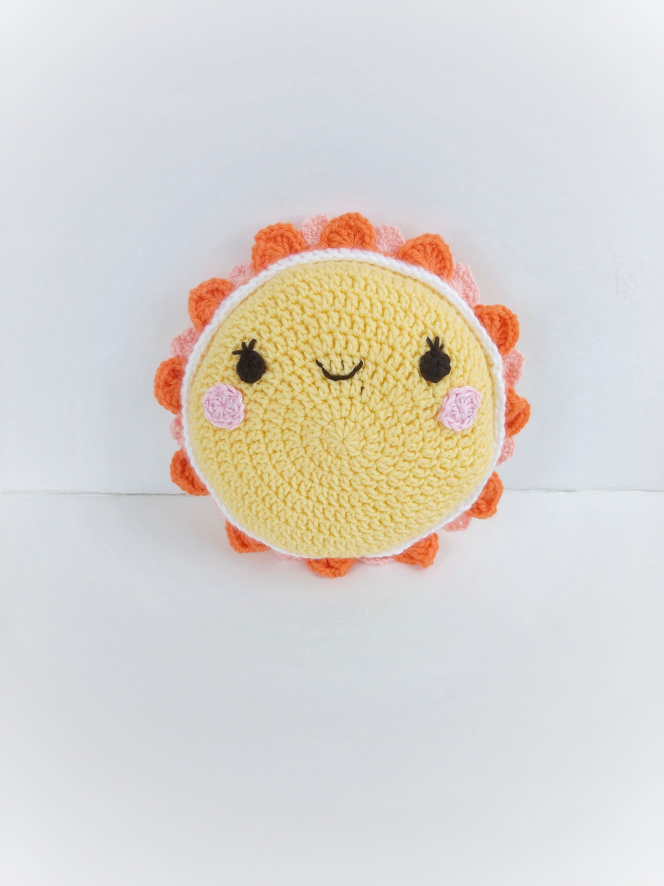 Sun Amigurumi | Crochet toys patterns, Knitting patterns toys ... | 3000x2250