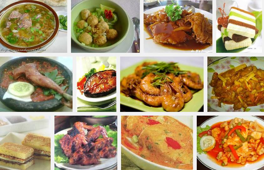 Aneka Resep Menu Masakan Rumahan Sederhana Indonesia Sehari Hari Resep Masakan Indonesia