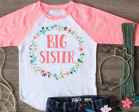 3052ccf8656 Big Sister Shirt